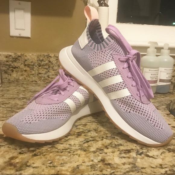Adidas Primeknit Lilac Sneakers